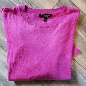 Banana republic soft pink sweater
